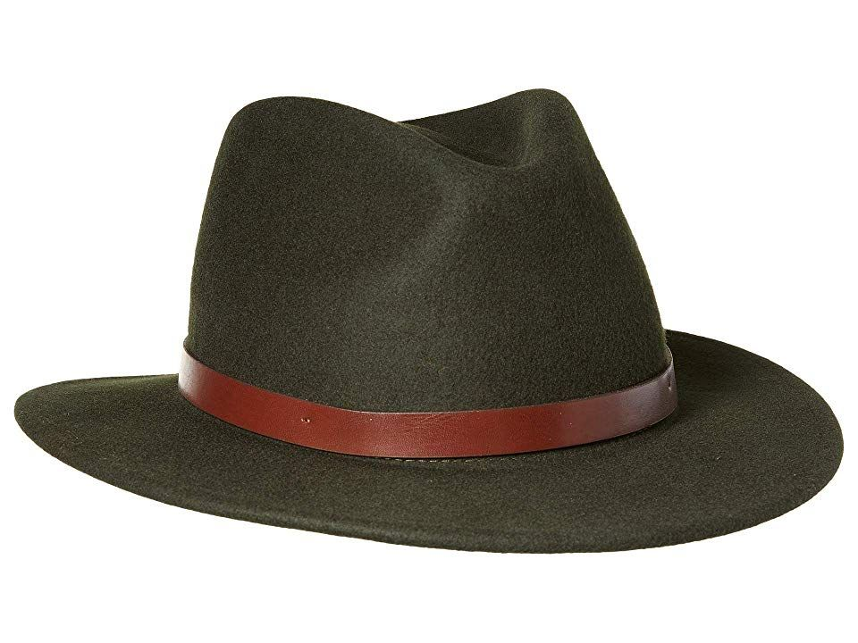 c322589d4a542 Brixton Messer Fedora (Hunter) Fedora Hats. for more information about Brixton  hat sizing