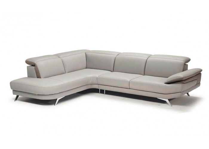 Natuzzi Editions B936 Leather Sectional With Adjustable Headrests : Leather  Furniture Expo