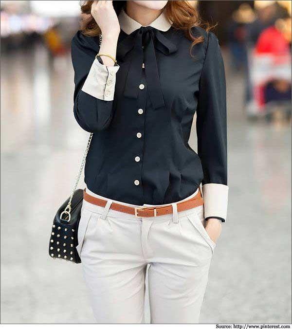 Formal Shirts For Women | Women Shirts | White Formal Shirts ...