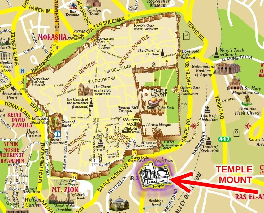 Image result for city of david the real temple mount | Church/Bible ...