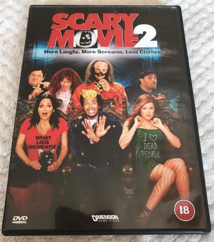 Only 1 98 Scary Movie 2 Dvd Free Postage Scary Movie 2 Scary
