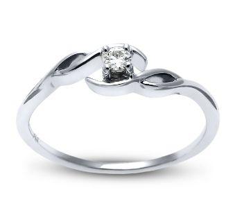 Cherish 10k White Gold Promise Ring 05 Ct Tw White Gold Promise Ring Engagement Rings Sapphire Black Diamond Ring Engagement