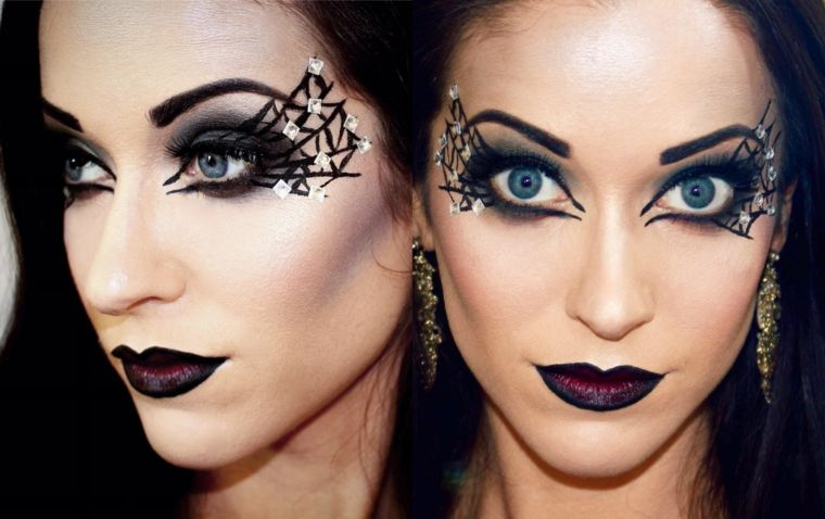 maquillaje de bruja original - Maquillaje Bruja