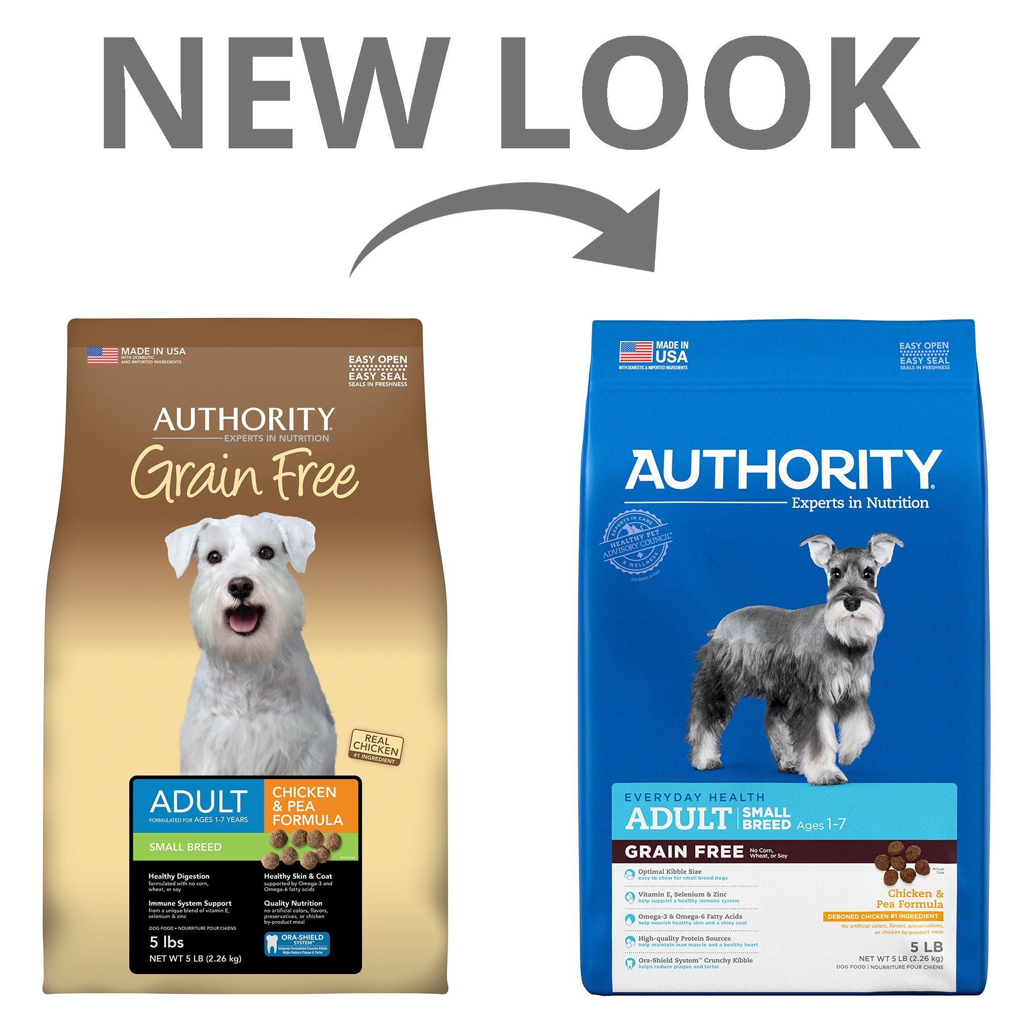 Authority Small Breed Adult Dog Food Chicken And Pea Grain Free