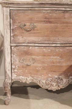 Exceptionnel FRENCH COUNTRY COTTAGE: Inspirations~ Accentrics Home. I Like The Bleached  Wood Finish On This Dresser.