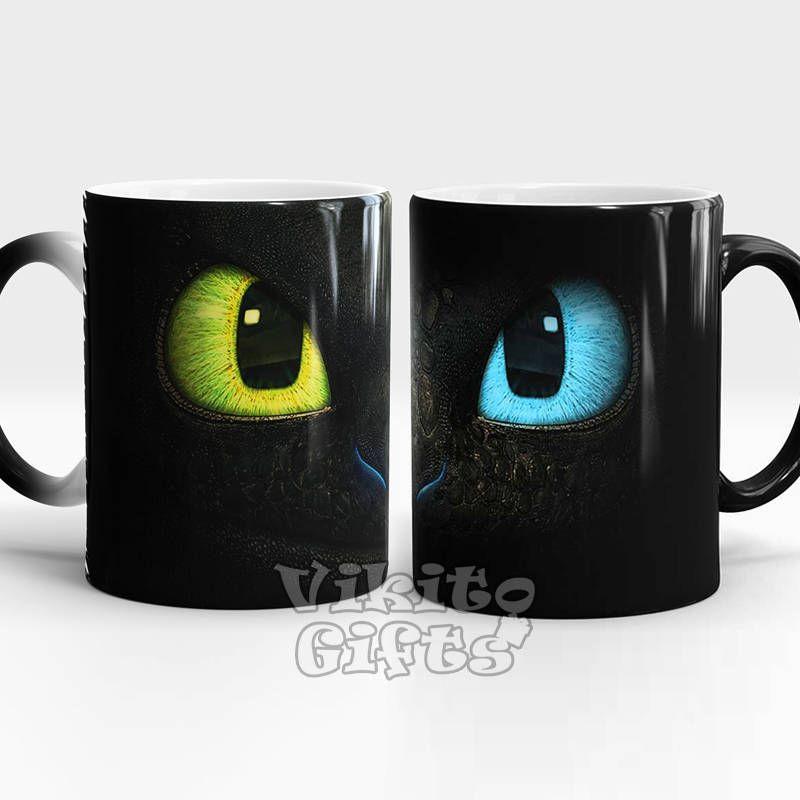 Dragon Mug Color Changing Cup Heat Sensitive Birthday Gift Idea