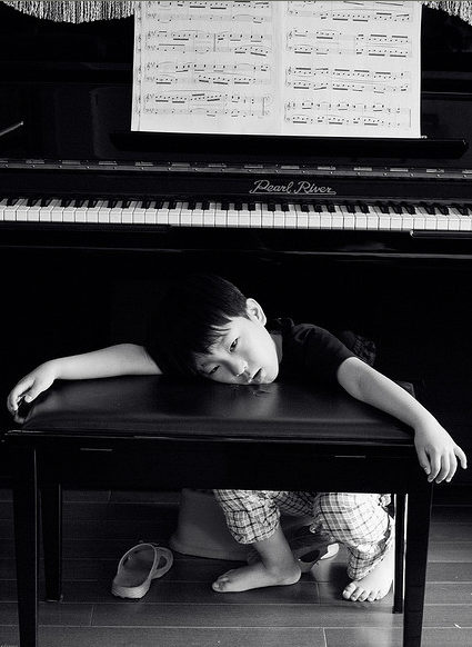 """""""Piano Kid"""" Photo by Lingyun Wu, used with permission"""