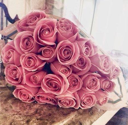 باقات ورد كبيرة وجميلة باقات ورد طبيعي هدايا Zina Blog Backyard Flowers Flowers Rose