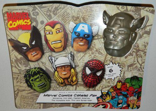 NordicWare Avengers Cake Pan Party themes Pinterest Avenger