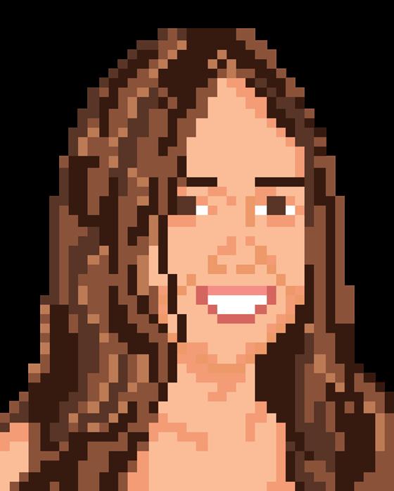 Pixel Portraits on Behance
