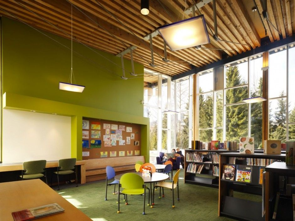 Modern Whistler Public Library Design By Hughes Condon Marler Architects  Architect Photos Gallery Home Design Ideas