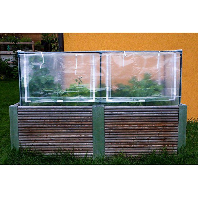 Gardenguard Hochbeet Abdeckung 185 X 90 X 95 Cm Transparent Pe
