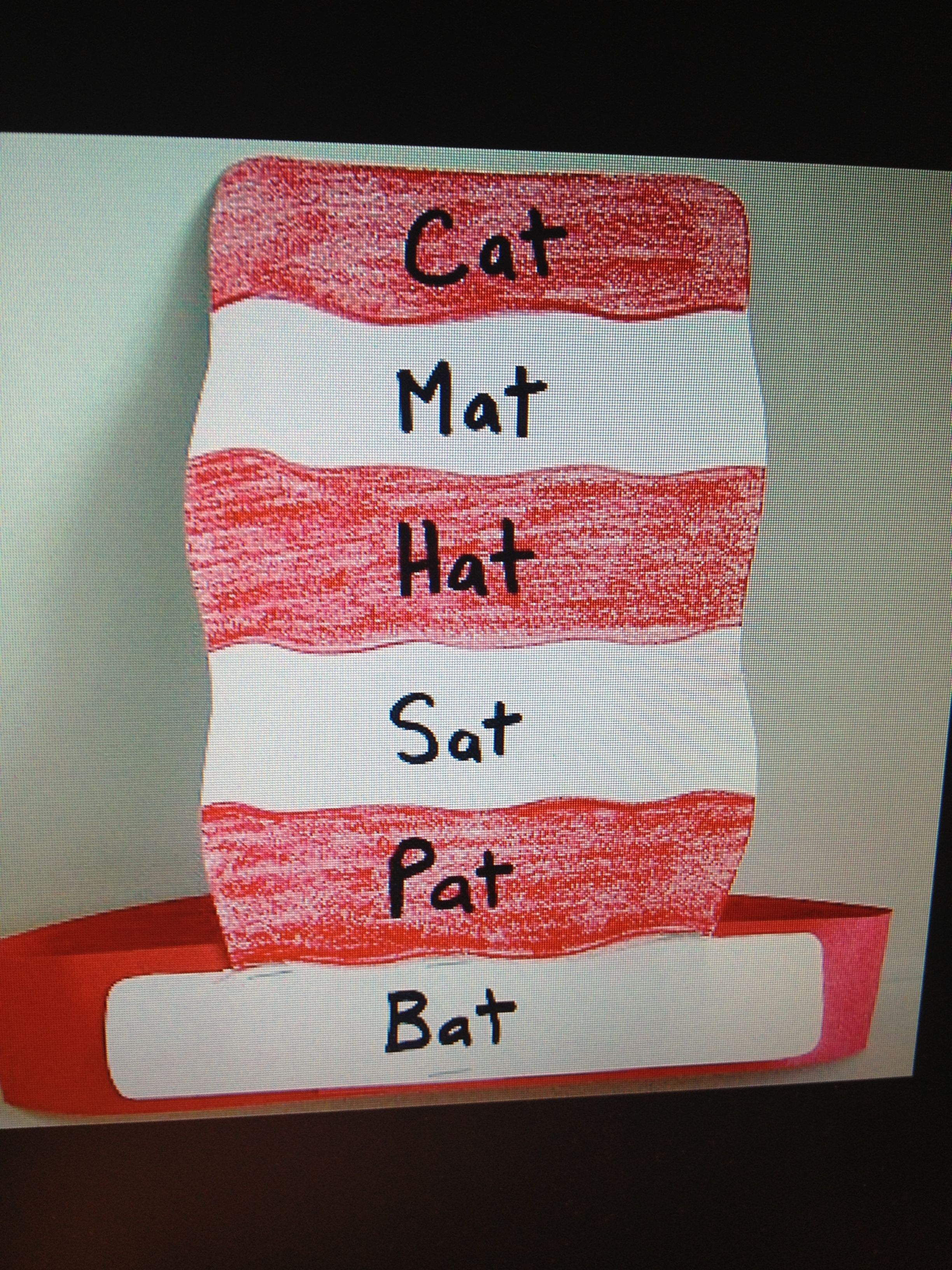 Dr Seuss Rhyming Hat For 5t