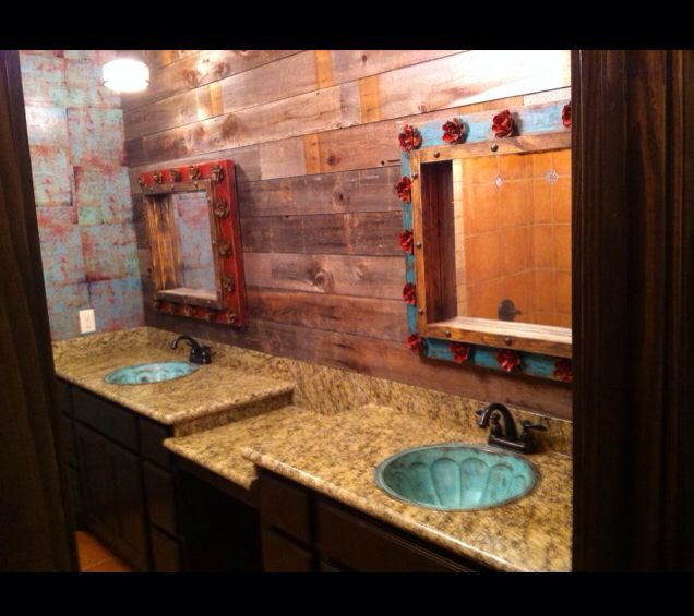 Turq. Sinks And Cute Mirrors For Little Girls Bathroom