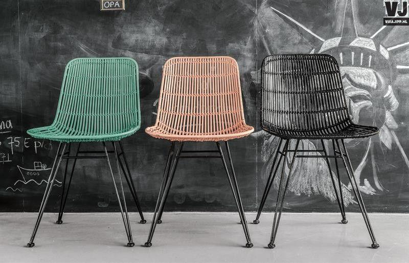 Rotan Stoel Zwart : Hk living online webwinkel gratis verzenden hk living rotan stoel