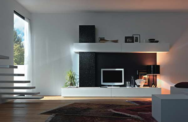 Ideas \ DesignBesta Tv Stand Modern Design With Stairs High - Wohnzimmer Ikea Besta
