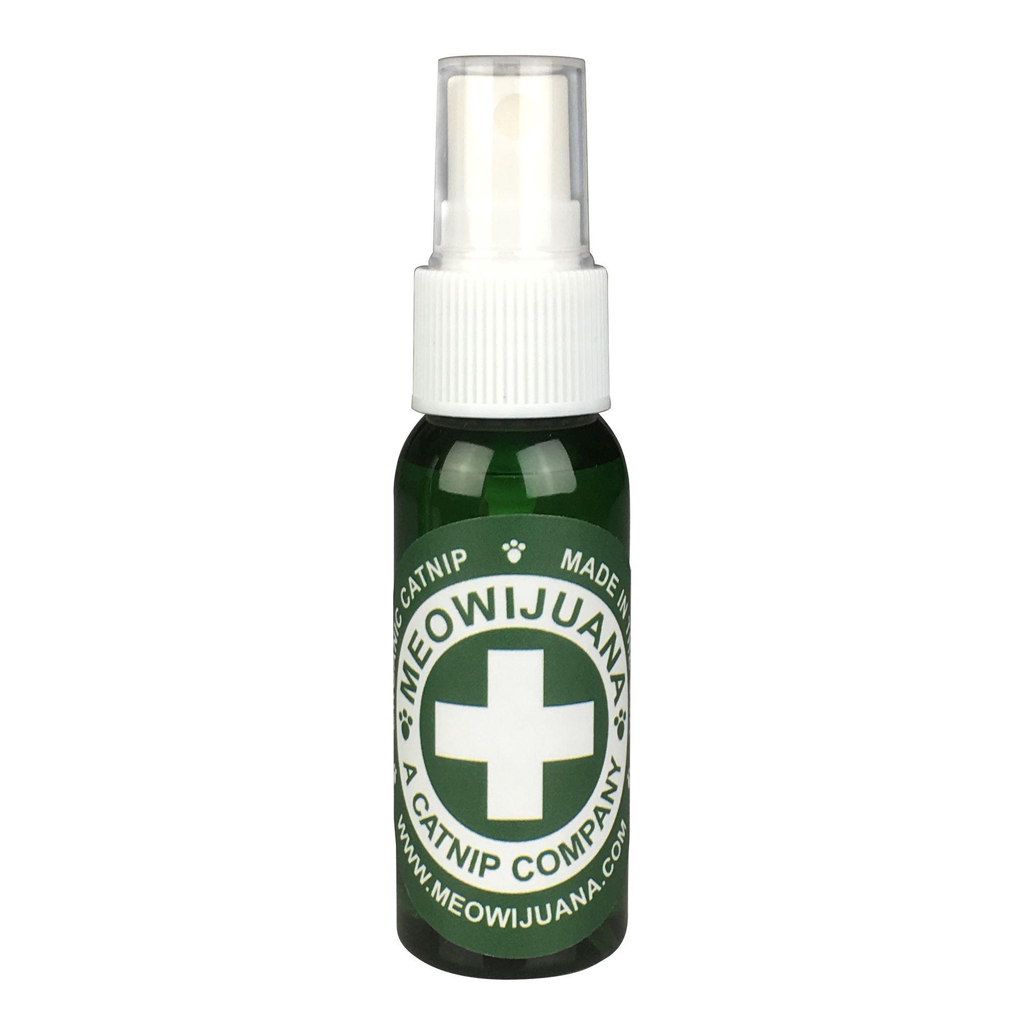 Meowijuana Catnip Oil Spray size 1 Fl Oz Catnip oil