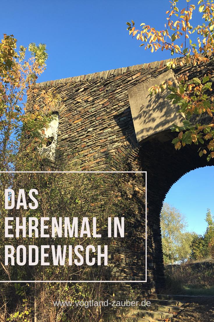 Das Ehrenmal In Rodewisch Vogtland Zauber Reise Blog Ehrenmal Reisen Deutschland Reisen