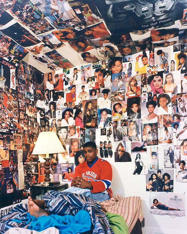 photographer adrienne salinger s series of teenage bedrooms from the rh pinterest com 1980s bathroom suites 1980s bedroom decor