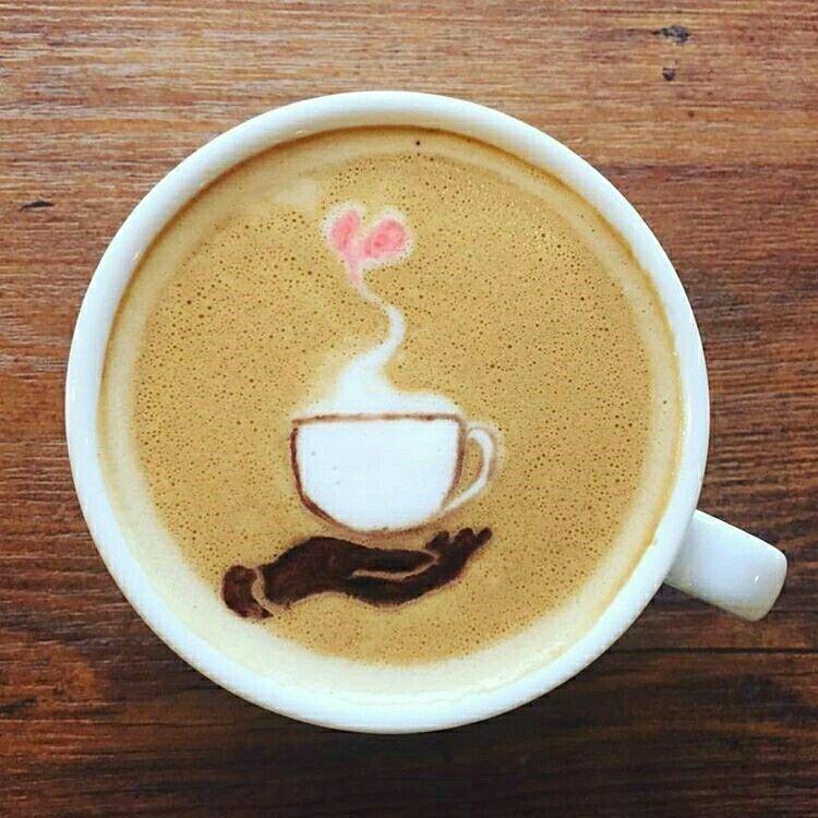 Pin Oleh Liza Dinata Di Coffee Art Resep Makanan Kopi Minuman