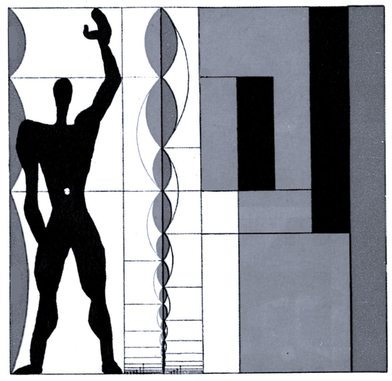 le corbusier modular man research kk graphics pinterest. Black Bedroom Furniture Sets. Home Design Ideas