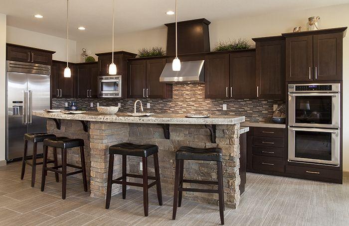 Best Cabinets Chocolate Poplar Full Overlay Using Lancaster 400 x 300