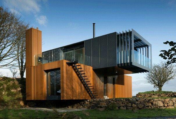 Pin de edna sobol en prefabricared houses pinterest for Arquitectura contenedores maritimos