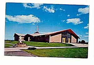 Vintage Old Postcard MICHIGAN Oscoda Sacred Heart Catholic