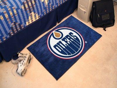 Edmonton Oilers Starter Rug/Carpet Welcome/Door/Bath Mat ...