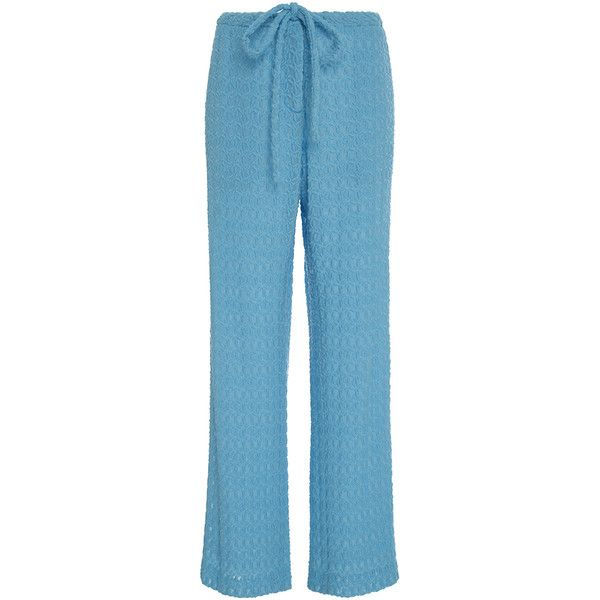 wide leg trousers - Blue Rosie Assoulin 100% Guaranteed For Sale HdcbYuY