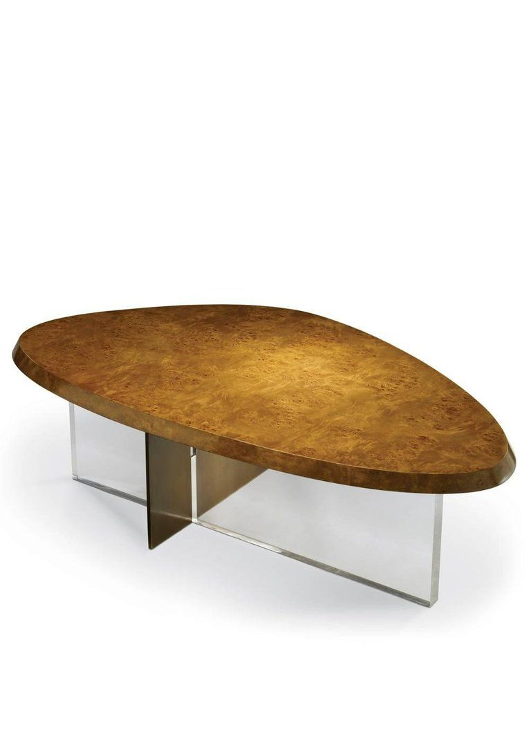 A Beautifully Crafted Coffee Table In A Contemporary Modern Design Made From Mappa Burl Medium Tone Wood Veneered Top Raised On A Coffee Table Furniture Table [ 1075 x 768 Pixel ]