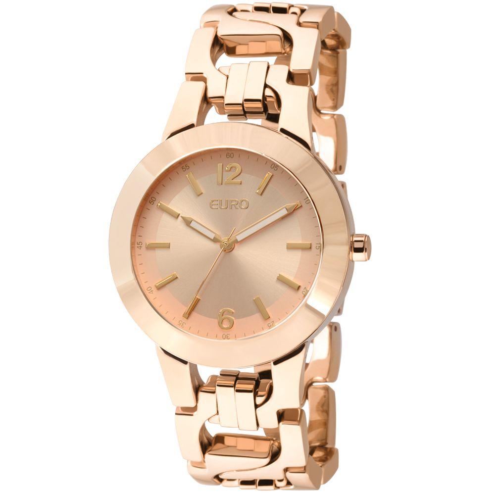 2d51d8cea84 Relógio Euro Feminino Buhi Rose Gold - EU2035LVV 4T - euro ...