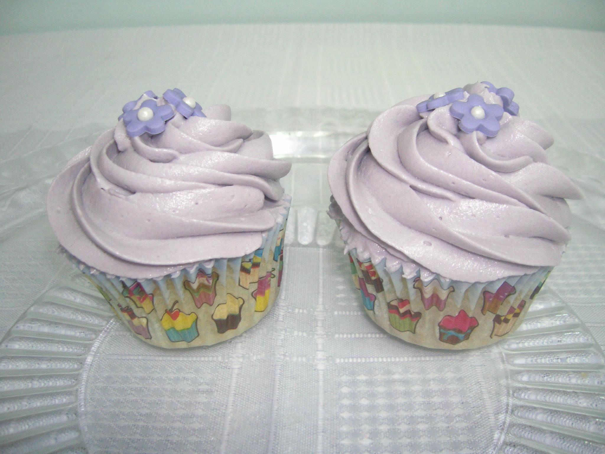 Cupcakes de violeta!!!!!