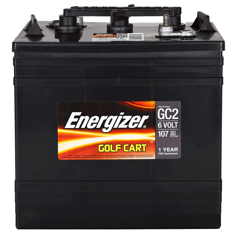 Energizer Golf Cart Battery Group Size Gc2 Sam S Club Golf Cart Batteries Golf Carts Yamaha Golf Carts