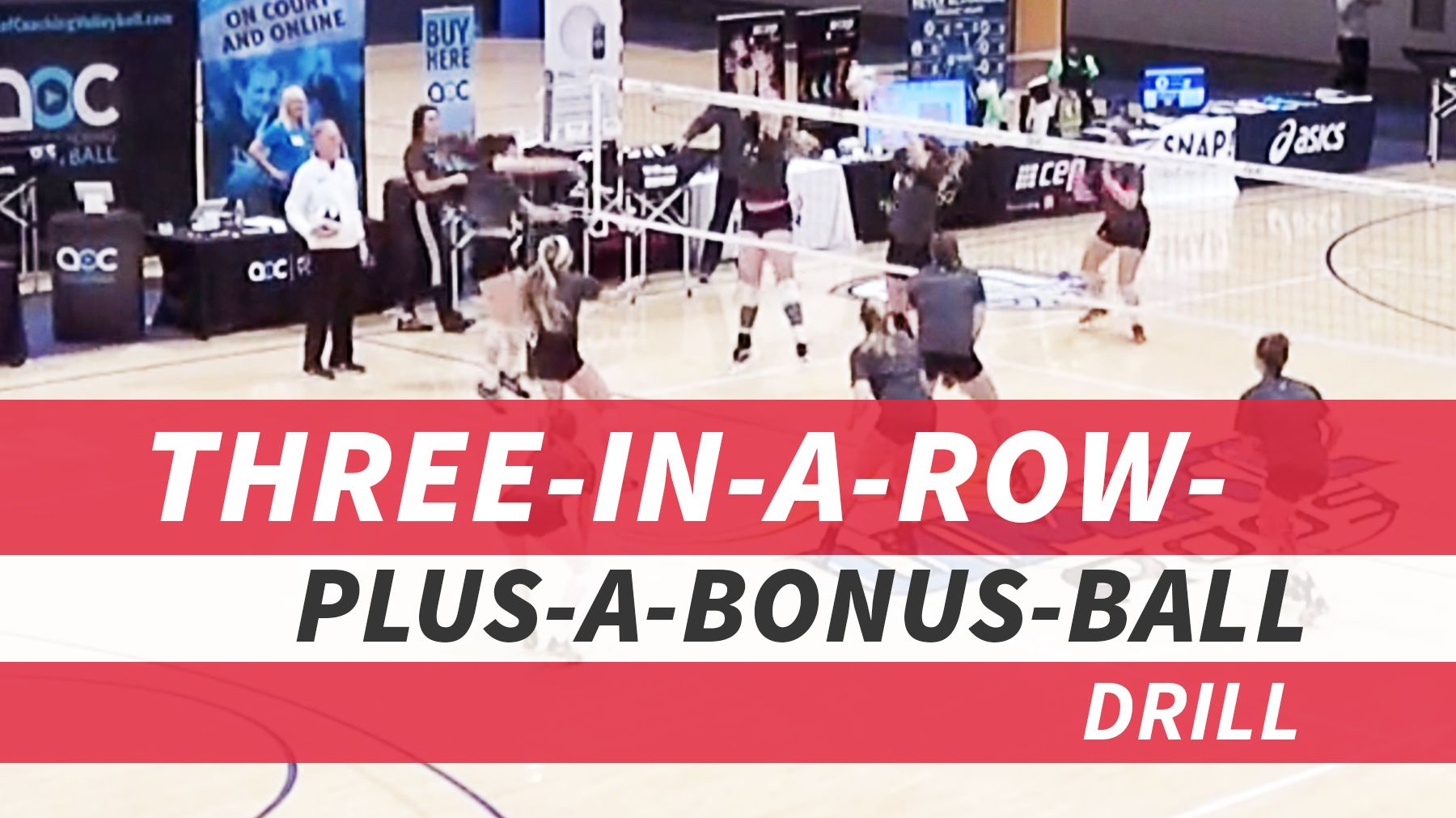 Three In A Row Plus A Bonus Ball To Train Success On Match Point Volleyball Drills Coaching Volleyball Volleyball Training