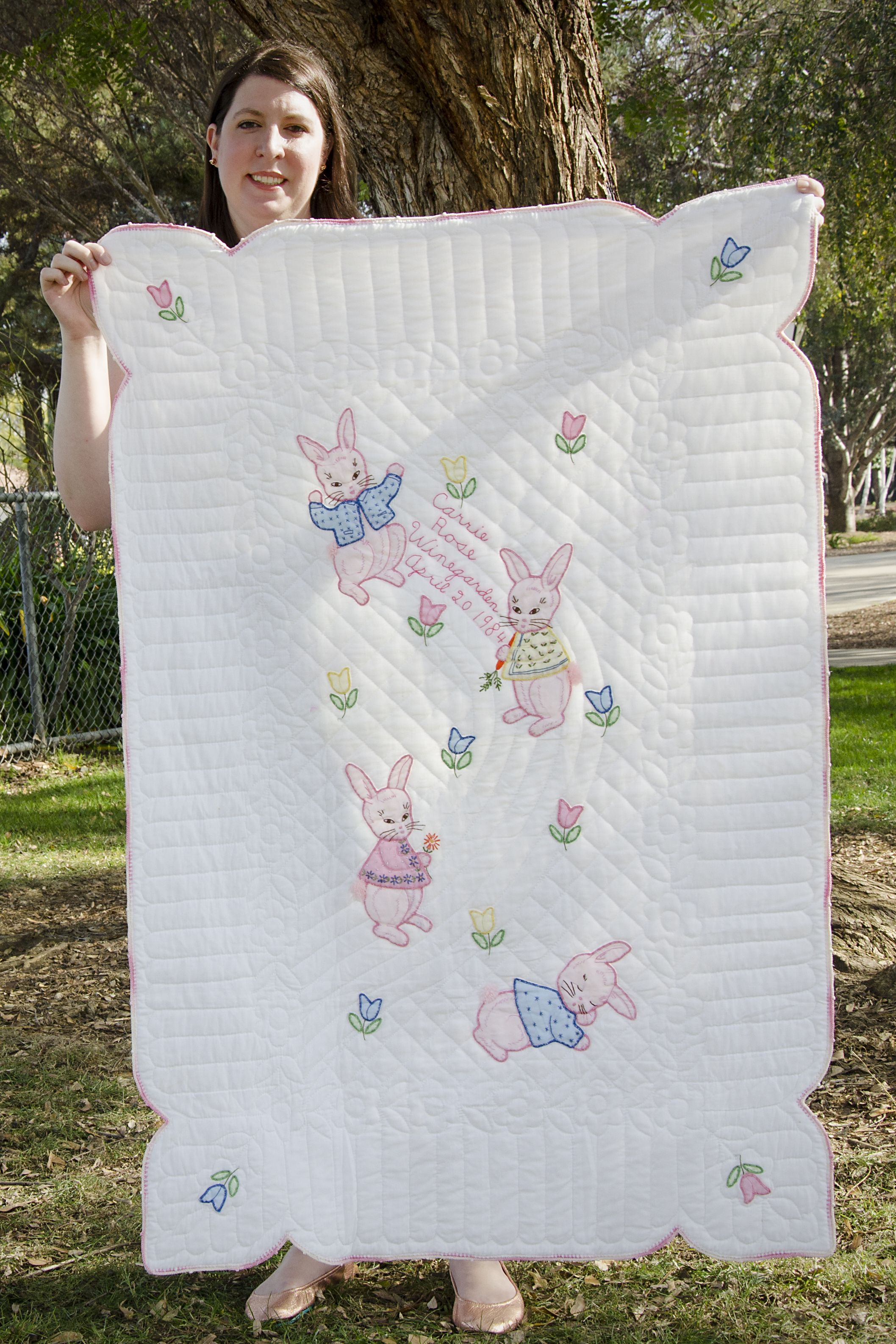 Carrie\'s Baby Quilt - This is a baby quilt I received from my great ...