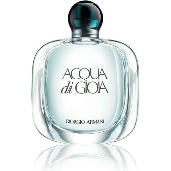 Giorgio Armani Acqua Di Gioia (140 BRL) ❤ liked on Polyvore featuring beauty products, fragrance, perfume, beauty, makeup, accessories, giorgio armani perfume, giorgio armani fragrance, parfum fragrance and floral fragrances