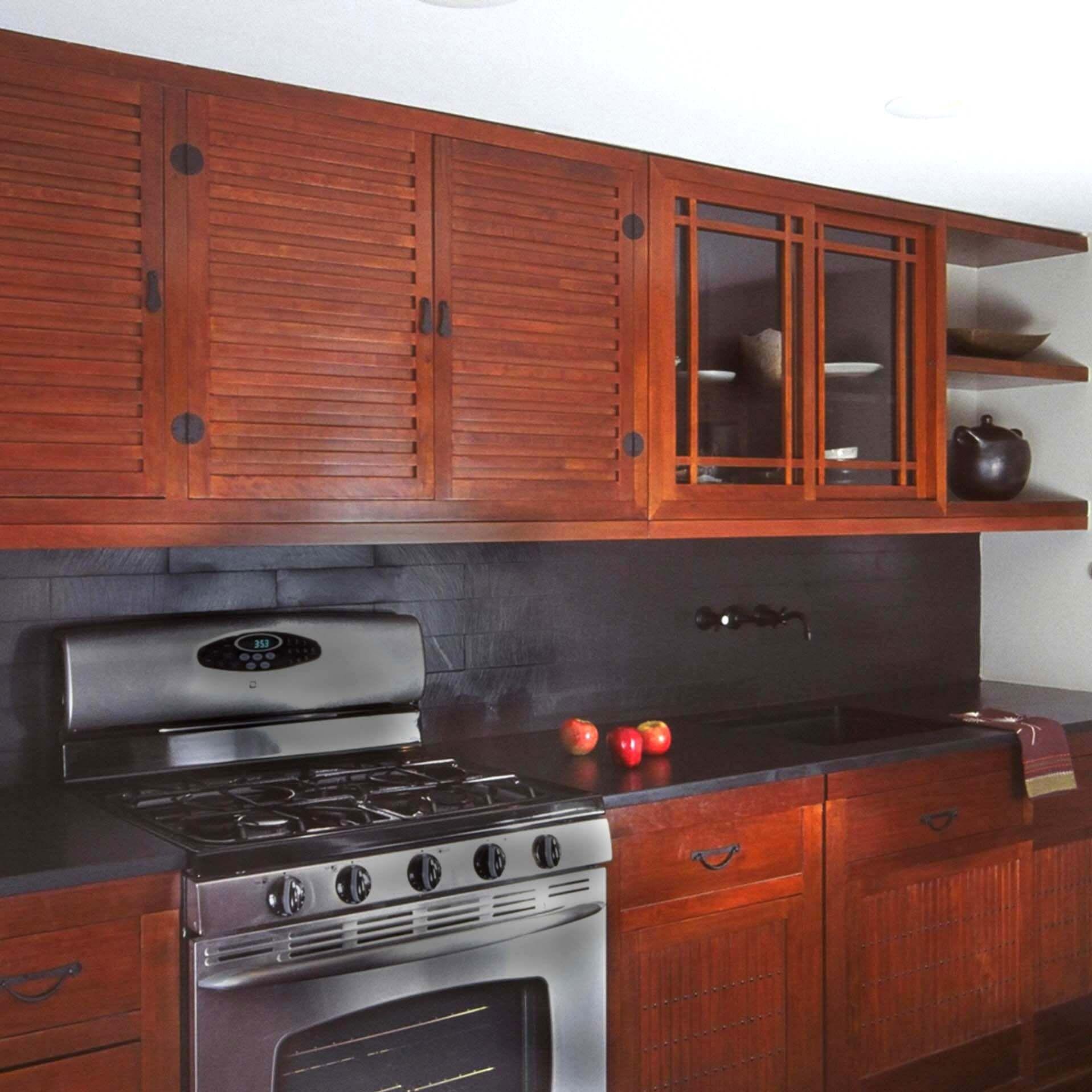 Louvered Kitchen Cabinet Doors Kitchen Cabinets Kitchen Design Wood Cabinet Doors