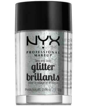 Nyx Professional Makeup Face & Body Glitter Brilliants - Iced