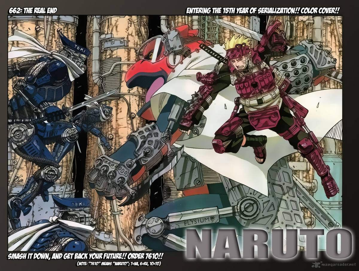 Uncategorized Naruto Manga Color Pages naruto chapter 662 gaara and shippuden 662