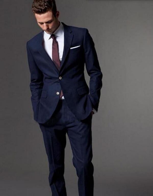 Custom made men\'s suit of high quality the groom wedding dress ...