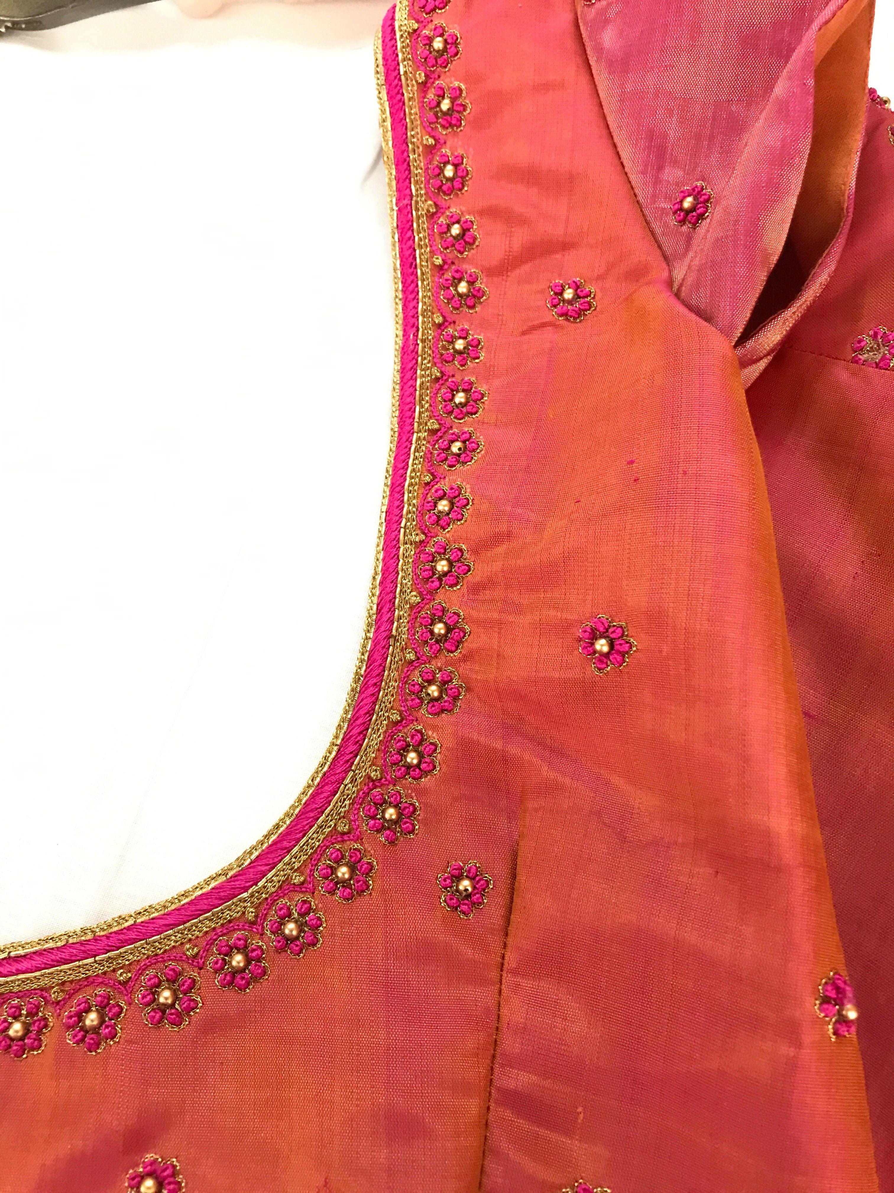 64053612b9cbd7 Blouse design | blouses in 2019 | Blouse designs, Blouse designs ...
