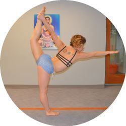 perfecting the bikram yoga poses standing bow with