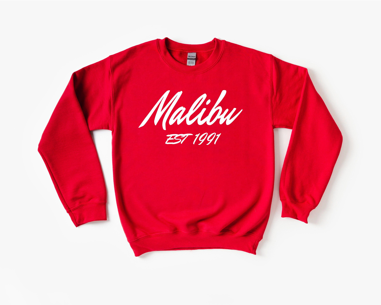 Malibu Sweatshirt Malibu Sweater Crewneck Sweatshirt California Shirt Unisex Sweatshirt Malibu Gifts Sweatshirts Unisex Sweatshirt California Shirt [ 2400 x 3000 Pixel ]