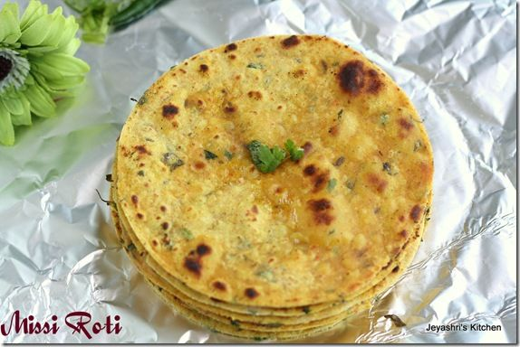 Missi Roti Recipe Missi Roti Food Indian Bread
