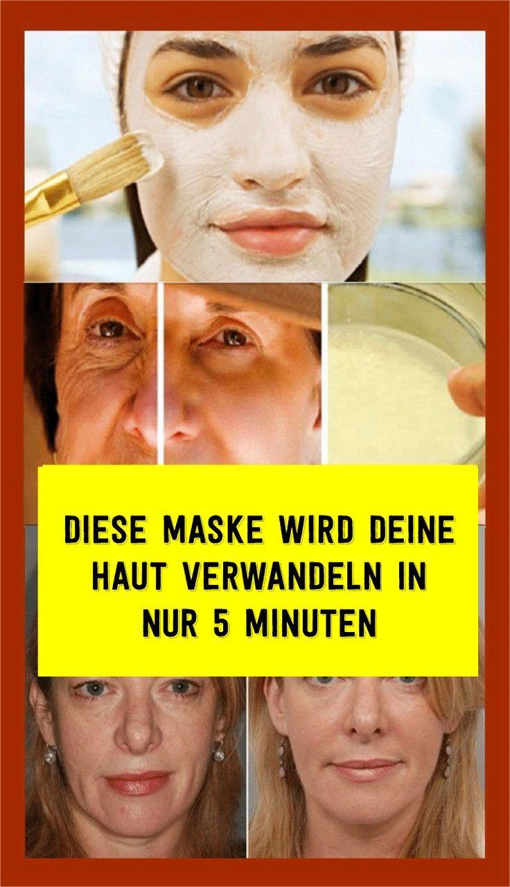 Diese Maske wird deine Haut verwandeln in nur 5 Minuten Diese Maske wird deine Haut verwandeln in nur 5 Minuten