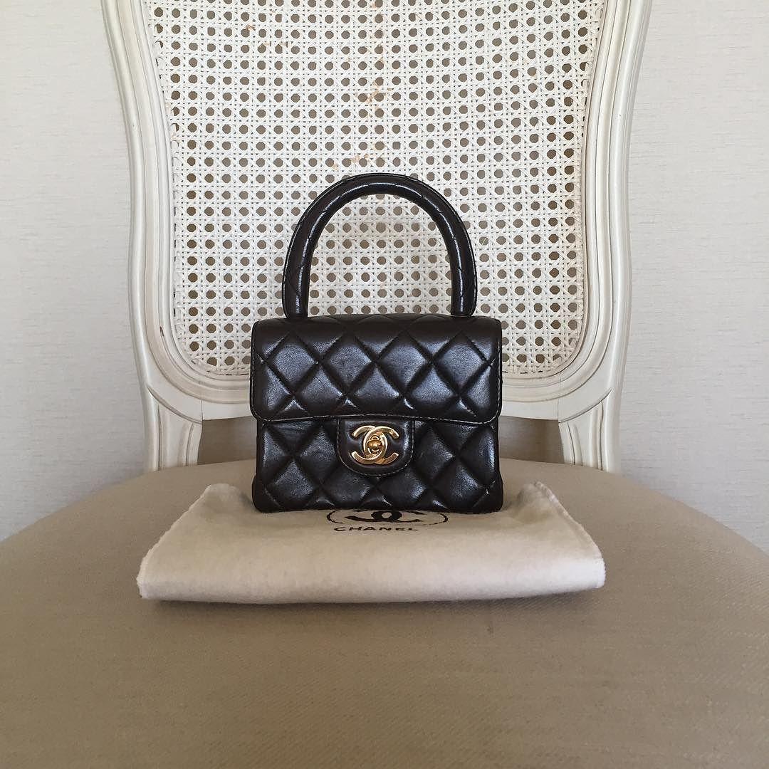 Instagram Photo By The Treasure Box Jun 10 2016 At 12 54pm Utc Chanel Mini Chanel Handbags Vintage Chanel