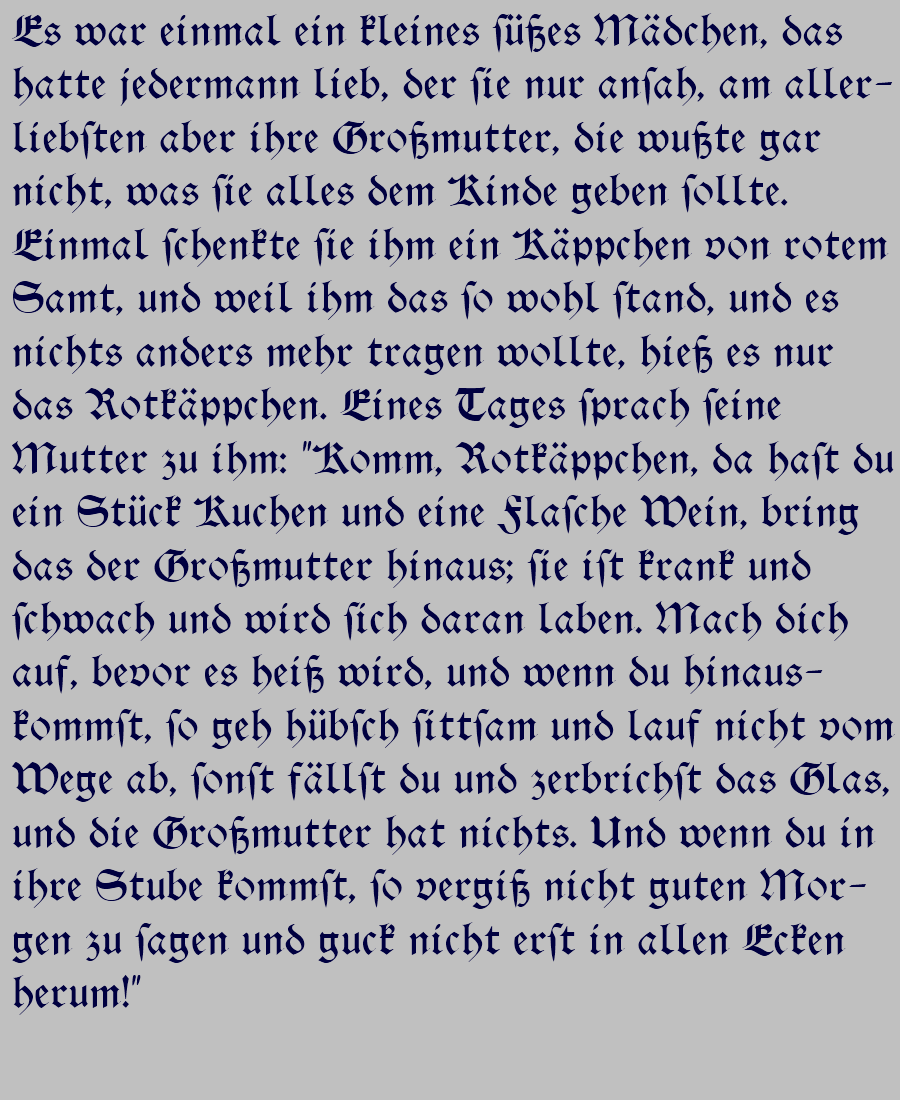 Alte deutsche Schrift / Altdeutsche Schrift / Sütterlin - Lesen ...