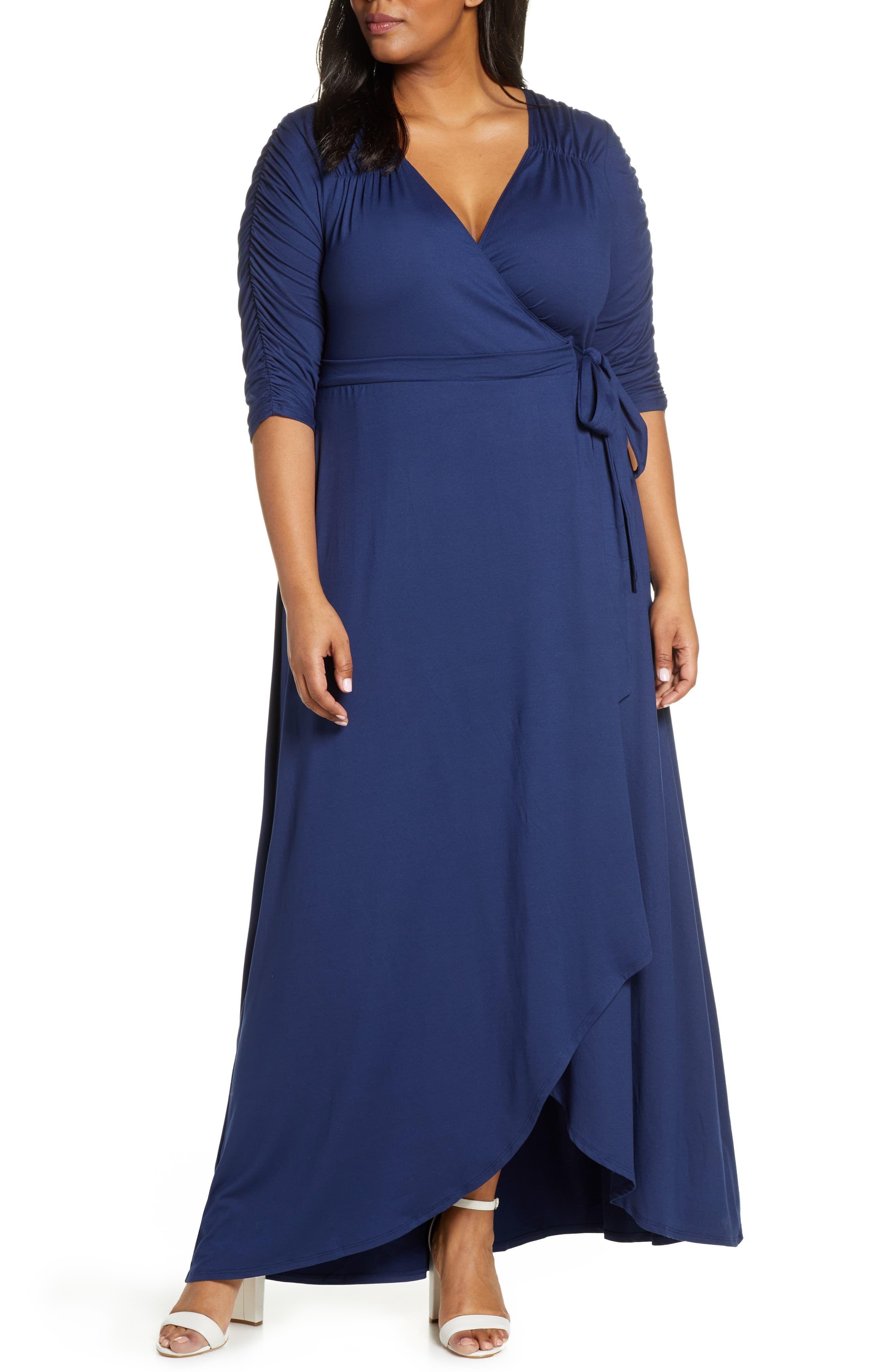 Kiyonna Meadow Dream Wrap Maxi Dress Plus Size Plus Size Maxi Dresses Maxi Dress Plus Size Black Dresses [ 4048 x 2640 Pixel ]