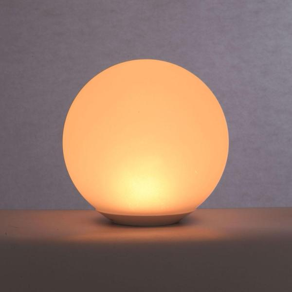 Alsy 8 In Color Changing Led Glow Ball Lamp 19237 000 The Home Depot In 2020 Ball Lamps Color Changing Led Lamp